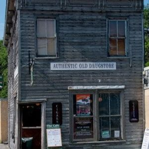 Authentic Old Drug Store