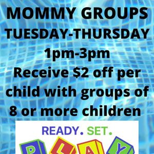 Ready. Set. Play!: Home School / Mommy Group